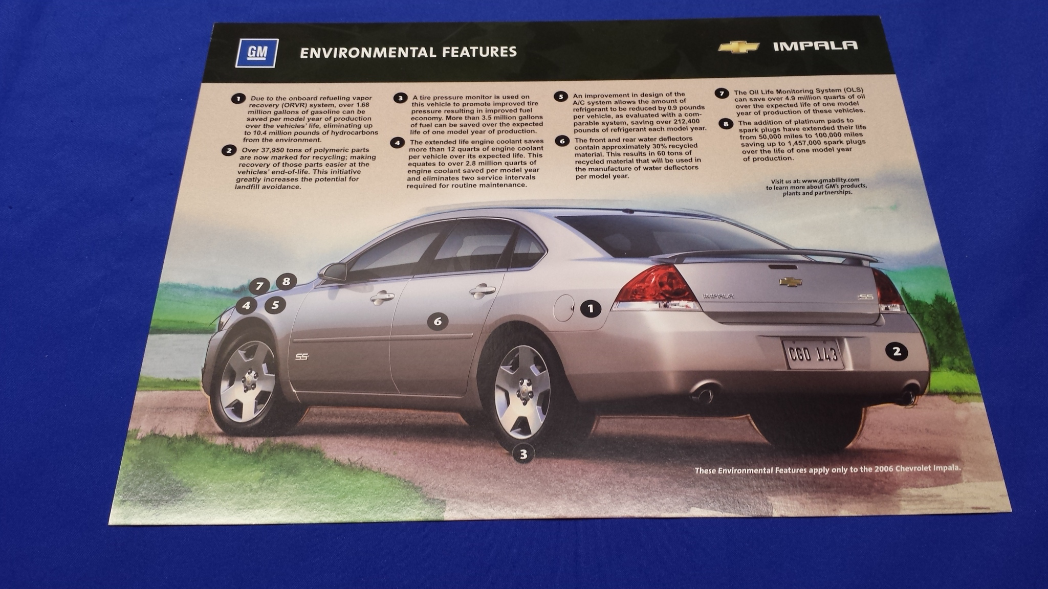 Literature (books, posters) : Mr Impalas Auto Parts!, OEM Parts for