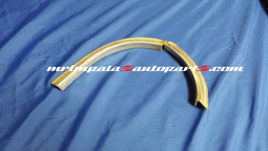 1960 Chevy Impala Left fender eyebrow mouldings