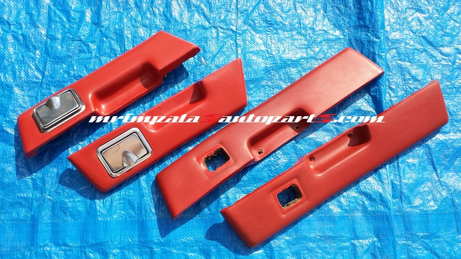 77-89 Chevy Caprice Impala Armrest Pad 4pc Set RED