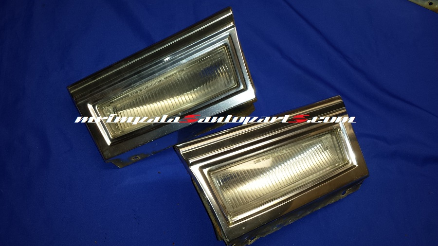 80-90 Caprice Classic LS Brougham Front fender lower light set