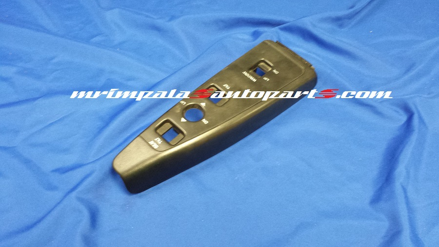 91+96 Chevy Caprice Power Window/Seat Switch Bezel Rt BLACK