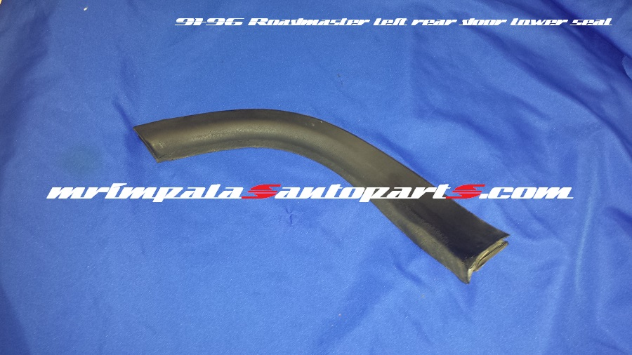 94-96 Buick Roadmaster Lower Door Jamb Seal Weatherstrip