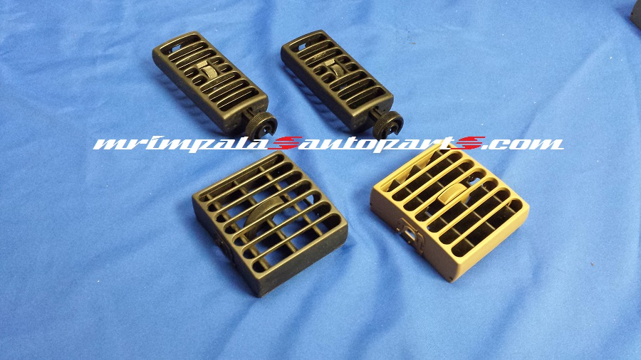 94-96 Chevy Caprice 9C1 Dash Vent Set BLUE And BLACK