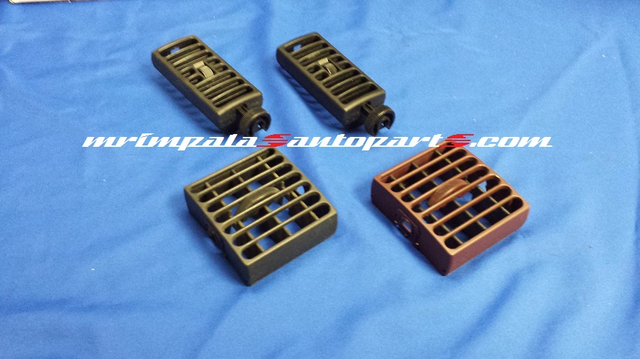 94-96 Chevy Caprice 9C1 Dash Vent Set RED And BLACK