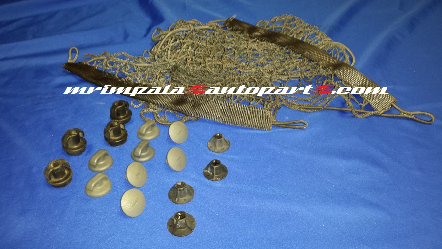 91-96 Caprice 94-96 Impala SS Trunk Net & Fasteners GRAY
