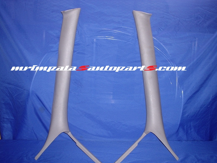 94 95 96 Impala SS A-Pillar Mouldings Front GRAY