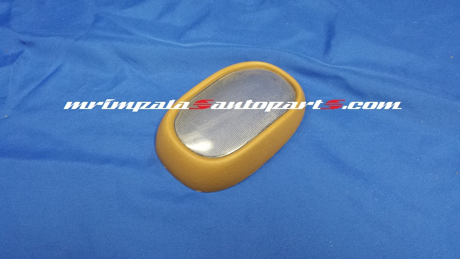 95 96 Chevy Caprice 9c1 Dome Light Lens and Bezel TAN