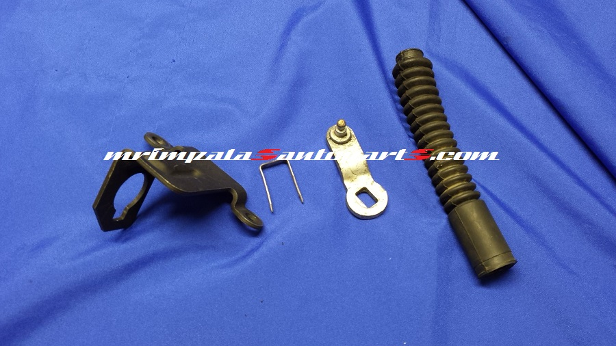 1996 Chevy Impala SS Floor Shift Cable Brackets 2pc - Click Image to Close
