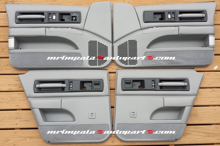 94-96 Impala SS Door panel complete set refurbished GRAY