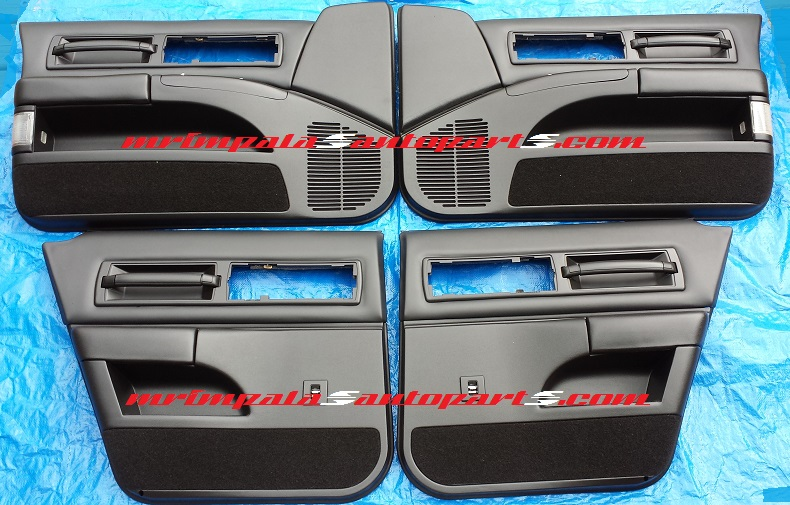 94-96 Impala SS Door Panel Set Refurbished BLACK
