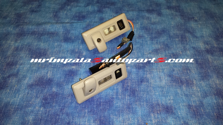 94-96 Impala SS Caprice Map lights Rear GRAY
